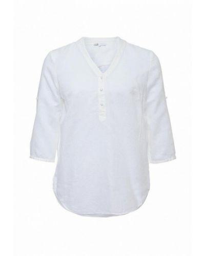 Блузка белая Oodji