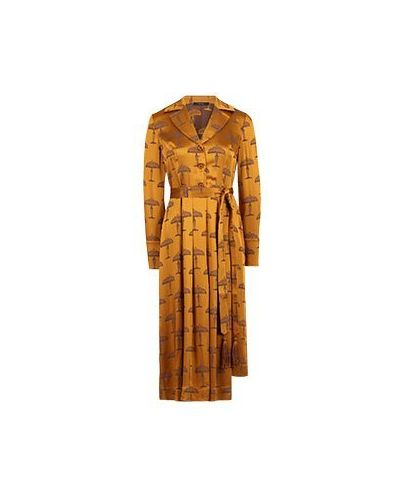Повседневное желтое платье из вискозы Vuall