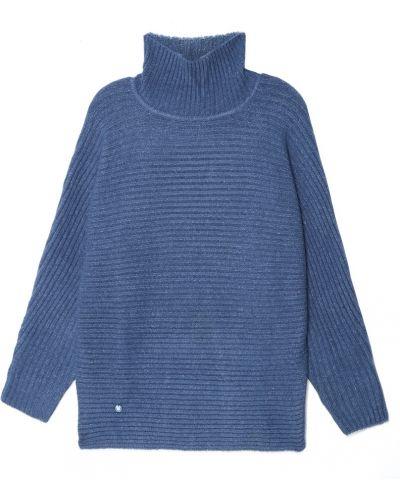 Свободный длинный свитер оверсайз с воротником Adolfo Dominguez