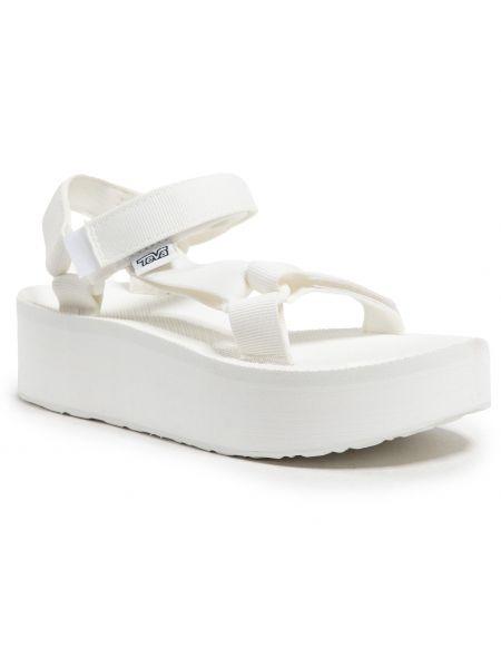 Białe sandały Teva