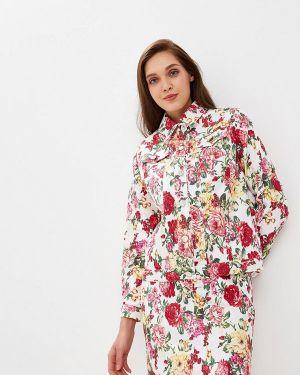 Разноцветный пиджак - белый Royal Elegance