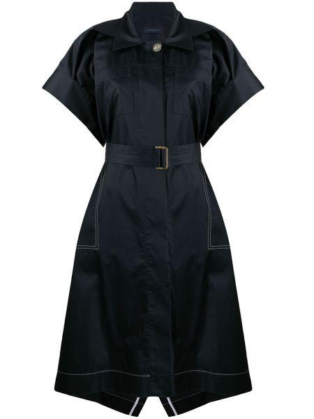 Платье с поясом на пуговицах платье-майка Eudon Choi
