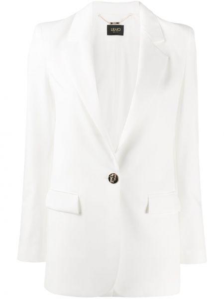 Пиджак прямой с накладными карманами Liu Jo