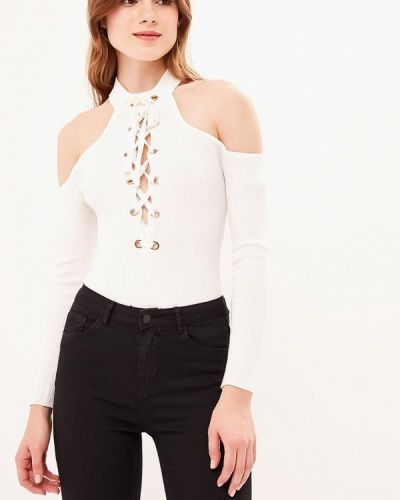 Боди блуза белое Zeza