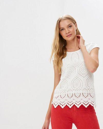 Блузка кружевная белая Motivi