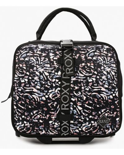 Черный чемодан Roxy