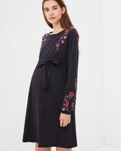 Платье для беременных с длинными рукавами осеннее Mama.licious