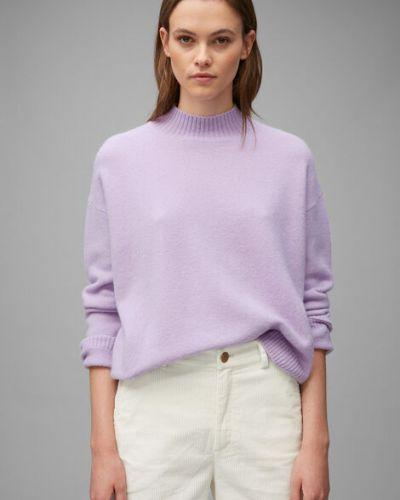 Fioletowy sweter wełniany Marc O Polo