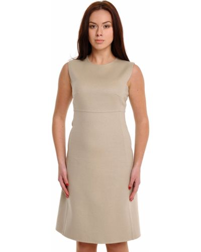 Шерстяное платье - бежевое Bally
