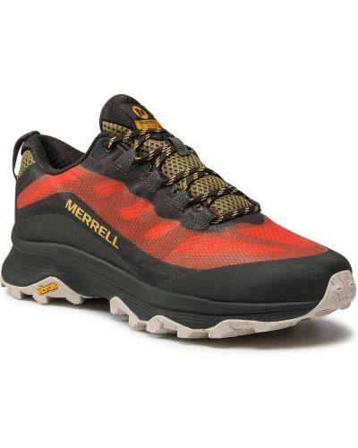 Czerwone sneakersy Merrell