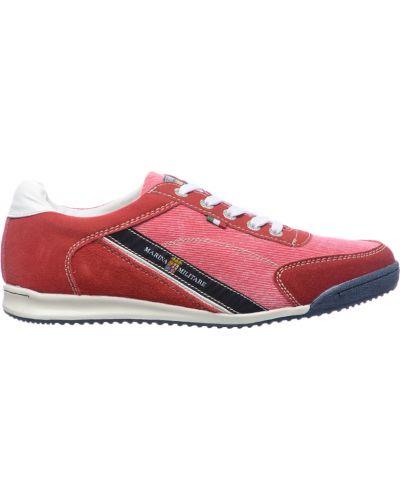 Текстильные кроссовки - красные Marina Militare