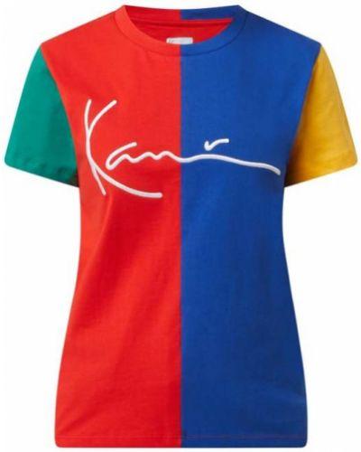 Wielokolorowy t-shirt bawełniany Karl Kani