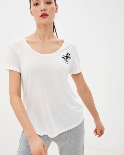 Белая футболка Roxy