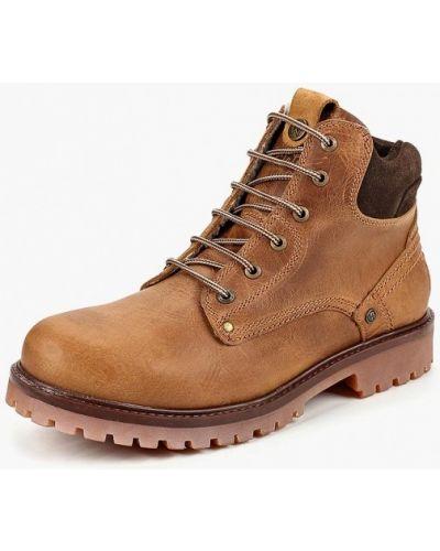 Кожаные ботинки осенние португальские Wrangler