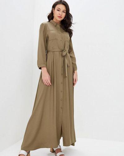 Платье платье-рубашка весеннее Miss Miss By Valentina