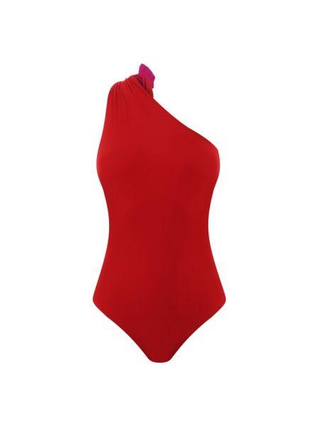 Красный купальник раздельный двусторонний с разрезом Araks