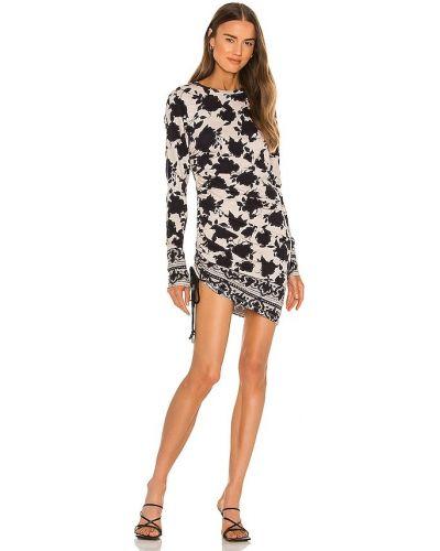 Трикотажное платье мини - черное Pam & Gela