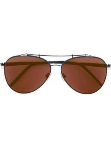 Czarne okulary Sama Eyewear