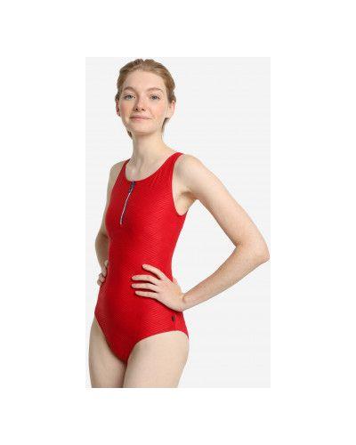 Красный купальник эластичный Fila