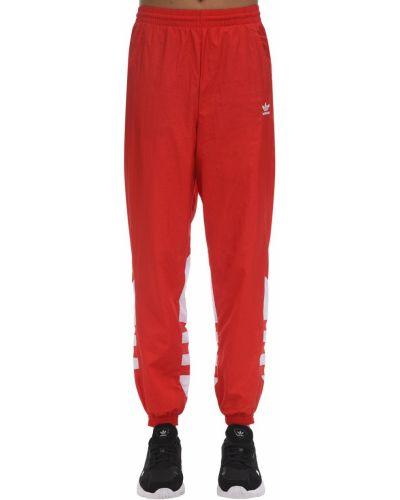 Палаццо - красные Adidas Originals