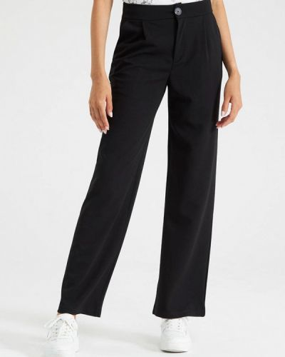 Черные зимние брюки Terranova