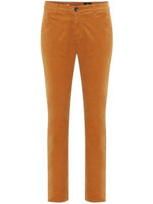 Брюки вельветовые золотой Ag Jeans