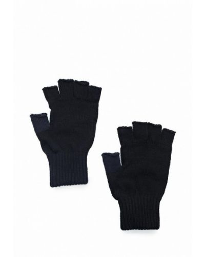Перчатки митенки черные Colin's