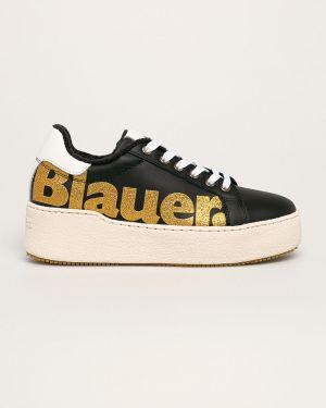 Buty na platformie na obcasie na pięcie Blauer