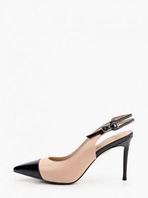 Кожаные туфли с открытой пяткой Dino Ricci