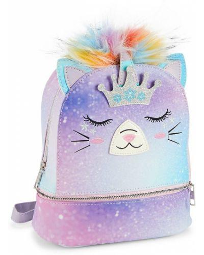 Фиолетовый рюкзак с подкладкой из искусственного меха Under One Sky