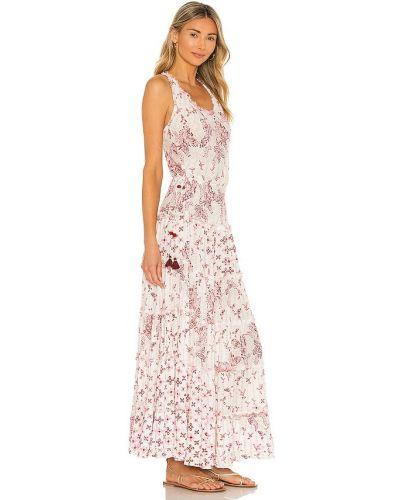 Платье макси - белое Poupette St Barth
