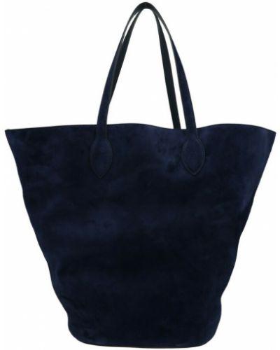 Niebieska torebka Khaite