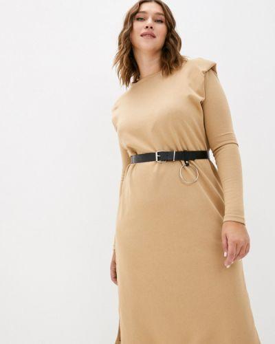 Платье - бежевое Miss Gabby