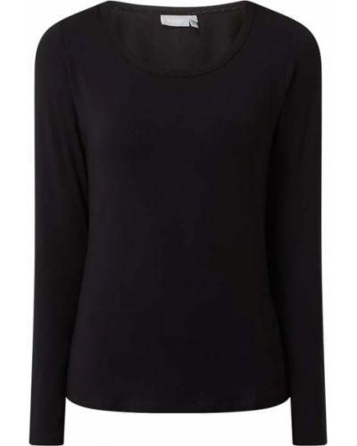 Czarna bluzka z wiskozy Fransa