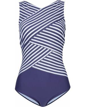 Слитный купальник корректирующий с подкладкой Bonprix