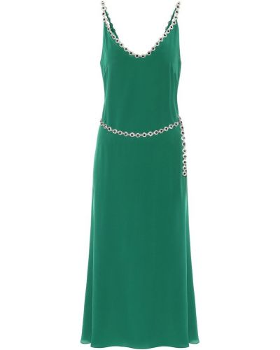 Jedwab sukienka Christopher Kane
