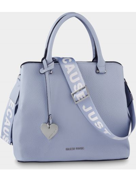 Синяя сумка Marco Tozzi