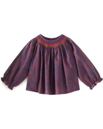 Фиолетовая блузка Bonpoint