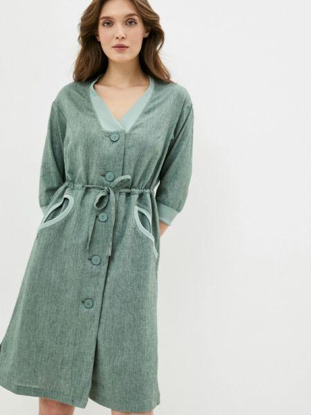 Зеленое повседневное платье D`imma