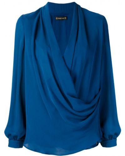 Блузка на пуговицах с манжетами с драпировкой Plein Sud