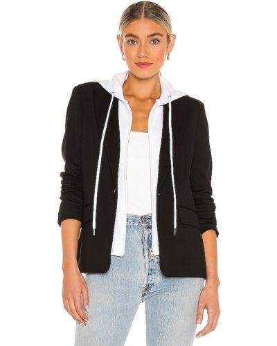 Черный пиджак с подкладкой на пуговицах Central Park West