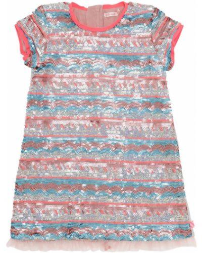 Платье мини с пайетками на молнии Billieblush