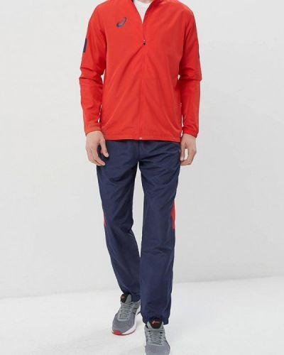 Спортивный костюм красный синий Asics