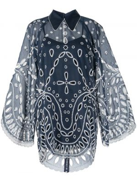 Платье мини платье-рубашка с воротником Alice Mccall