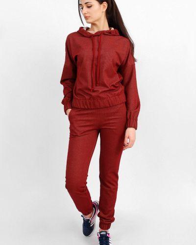 Спортивный костюм красный бордовый Sab