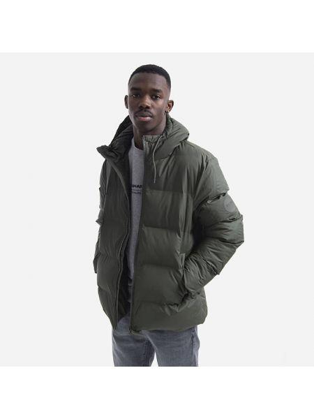 Зимняя куртка с капюшоном с карманами Rains