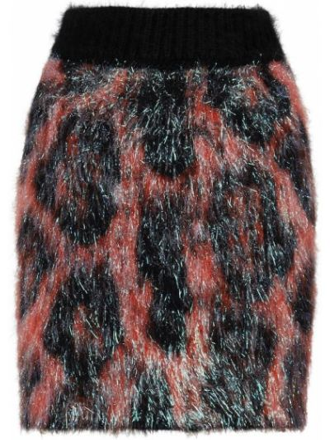 Spódnica wełniana - czarna Dolce And Gabbana