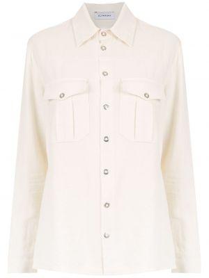 Длинная рубашка - белая Olympiah