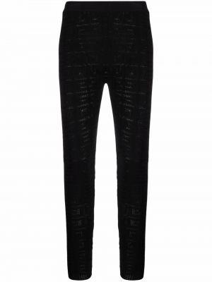 Legginsy - czarne Givenchy