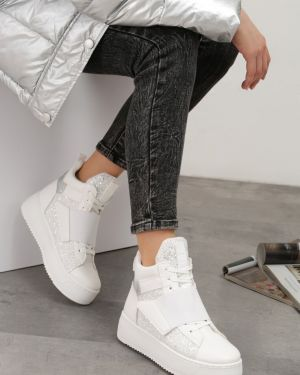 Sneakersy białe Multu